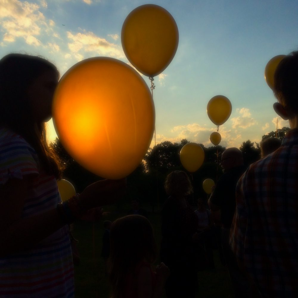 Balloons for Adam