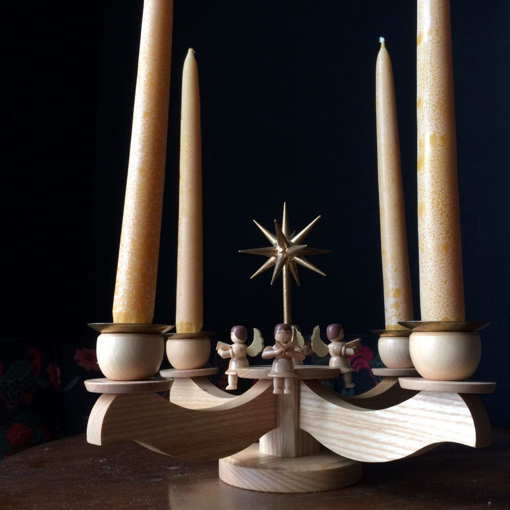 Advent Wreath and Candles