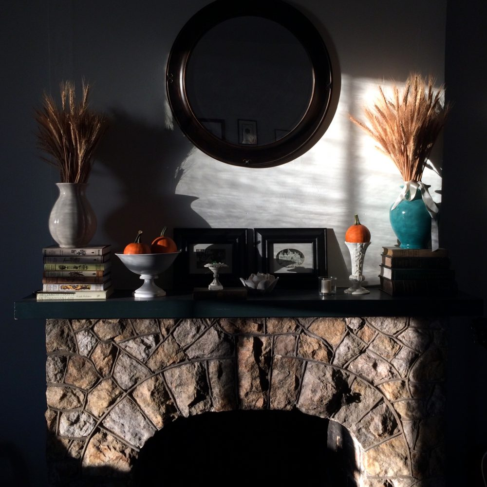 Autumn Light on the Mantelpiece